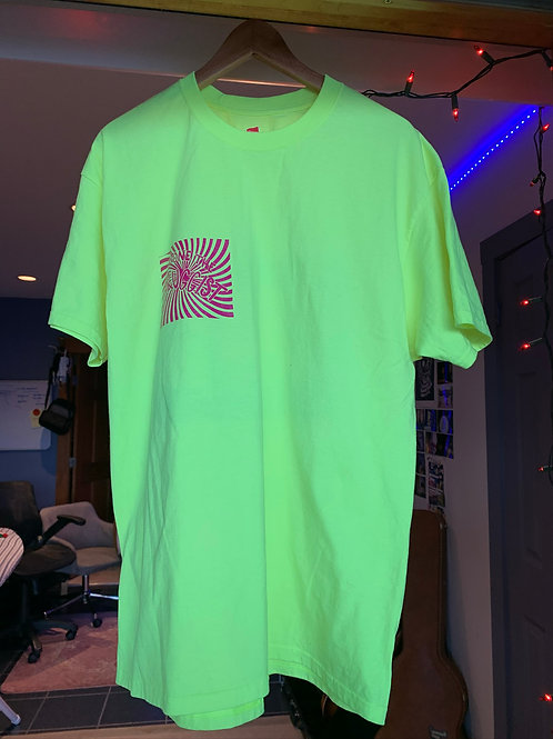X-Large Neon Yellow Short Sleeve