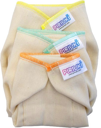 Piriuki Prefolds L - 6 pack