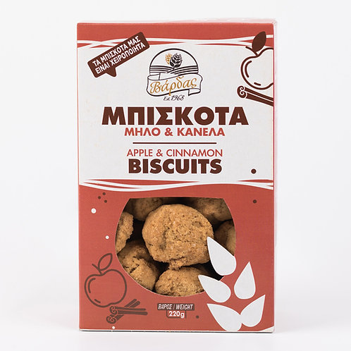 Apple & Cinnamon Biscuits