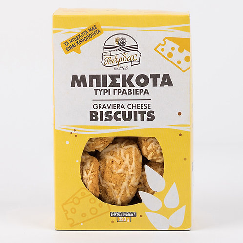 Graviera Cheese Biscuits