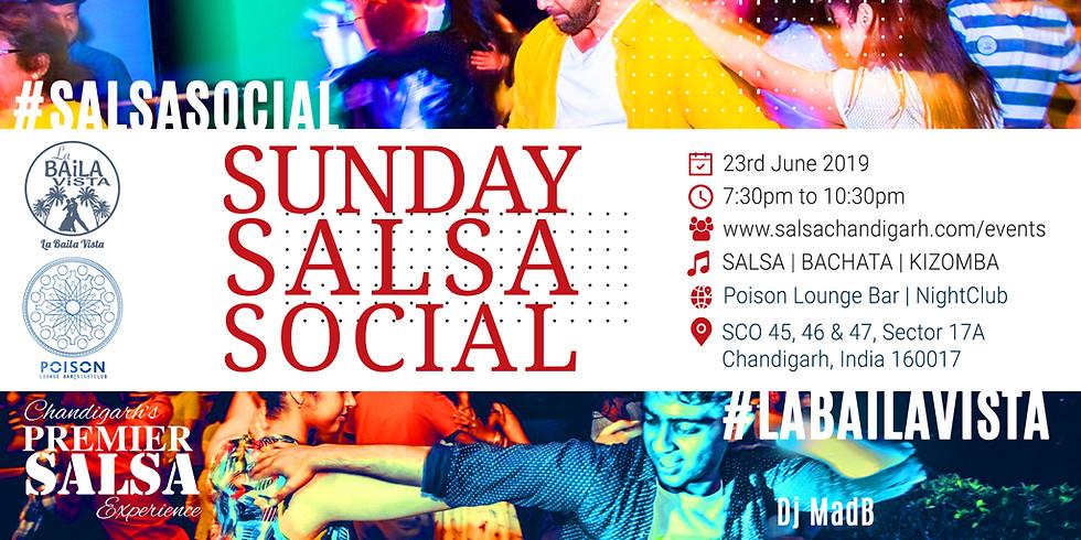 Sunday Salsa Social | La Baila Vista