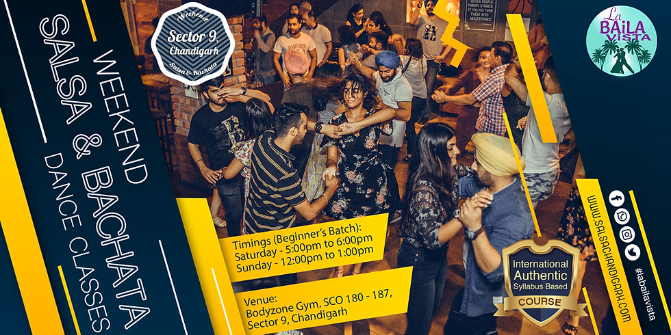 Free Salsa Demo class for our beginner's batch (4th Jan 2020)