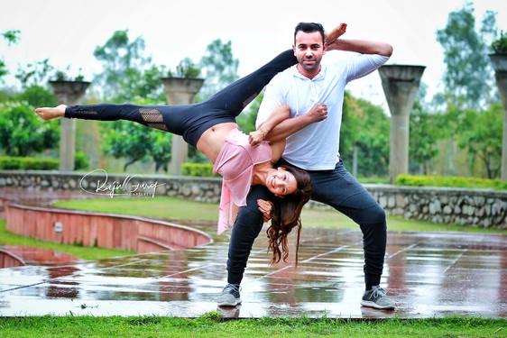 When Yoga meets Dance