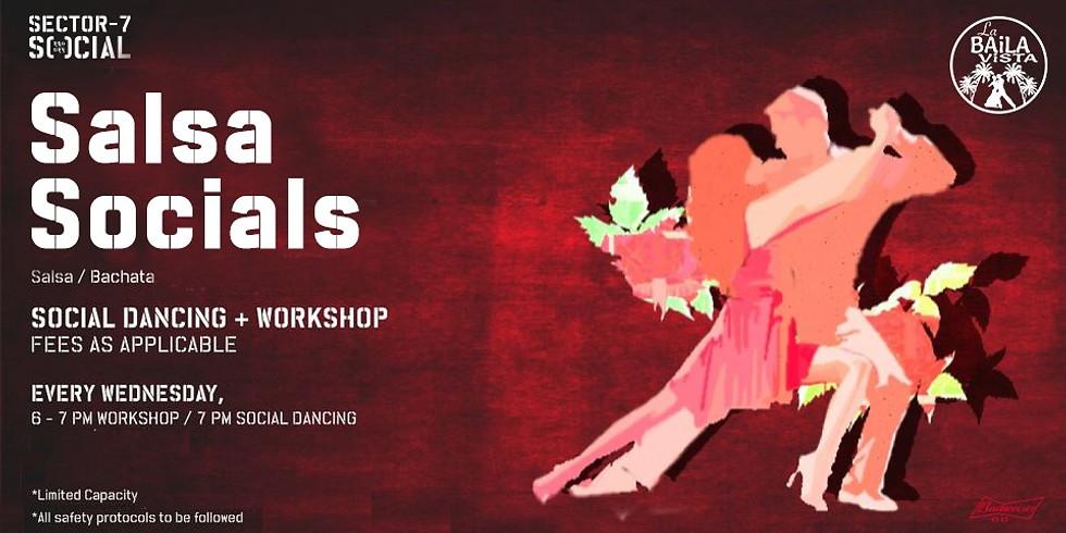 October Workshop | Social Dancing - Every Wednesday