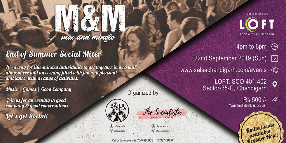 End of Summer Social Mixer | Sep19
