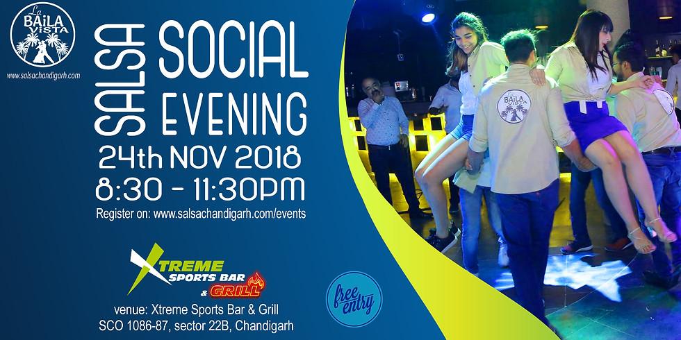 Chandigarh Salsa Social   24th Nov 18