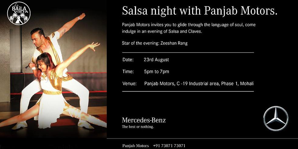 Salsa Workshop at Panjab Motors Mercedes-Benz - Mohali