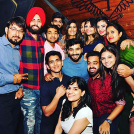Our amazing first social hosted by La Baila Vista in association with Bodyzone gym at _fashionbarchd and the chandigarh & Punjab's salsa dan