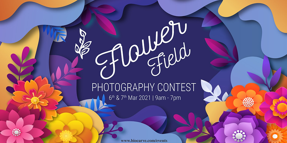 Flower Field Photography Contest