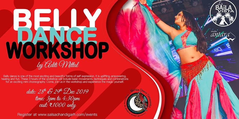 Belly Dance Workshop by Aditi Mittal