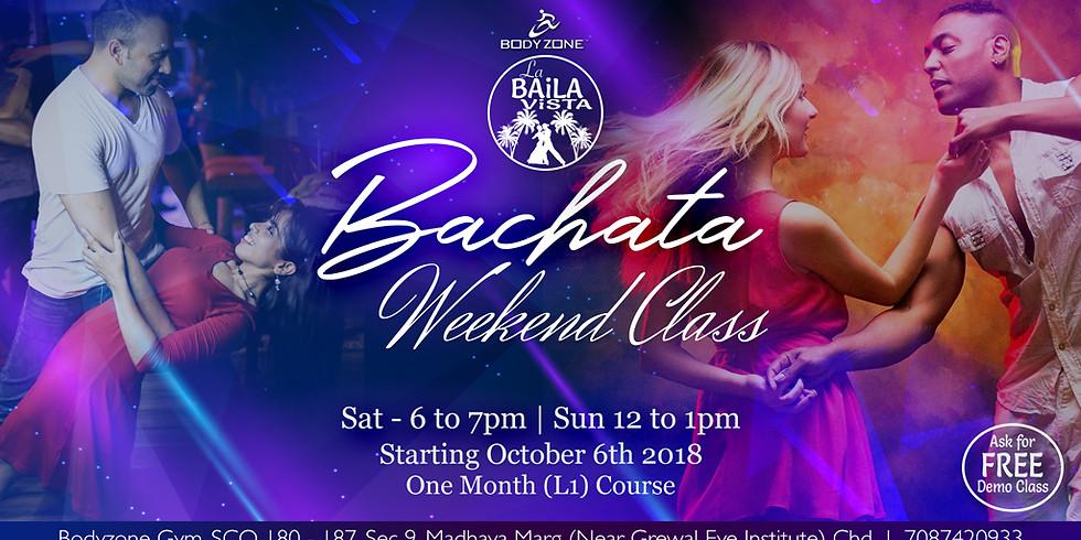 Bachata Weekend Class   New Batch