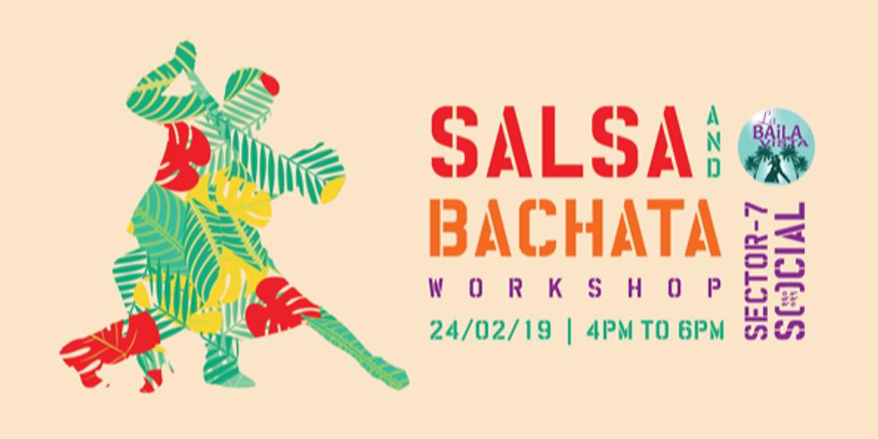 Salsa and Bachata Workshop @ Sector 7 Social