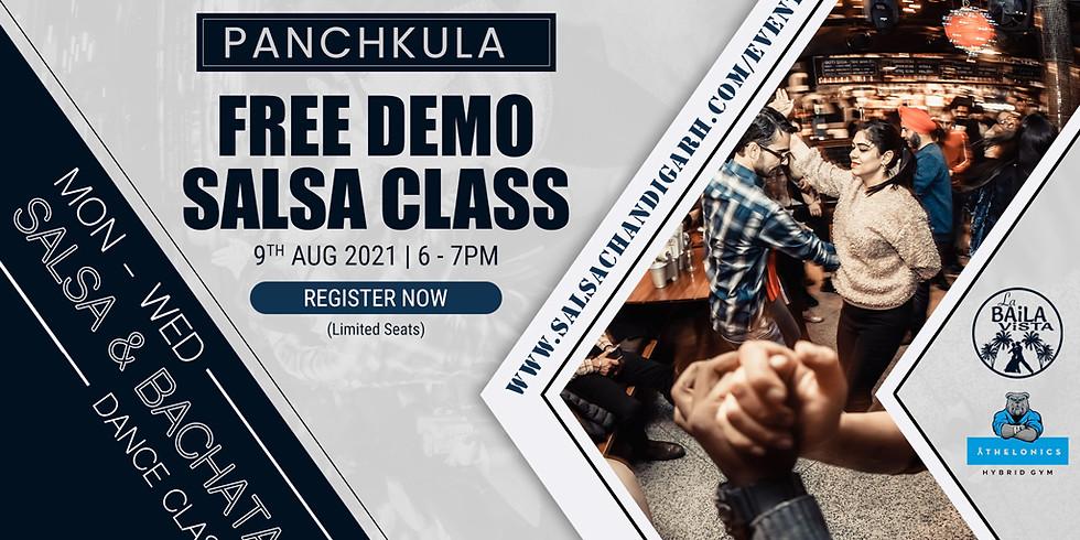 Panchkula Salsa Class | Free Class | 9th Aug @ 6pm