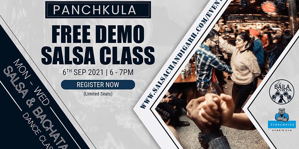 Panchkula Salsa Class | Free Class | 6th Sep @6pm