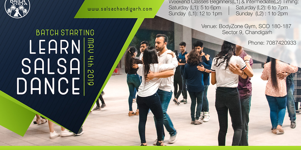 New Salsa & Bachata Batch Starting May 4th 2019