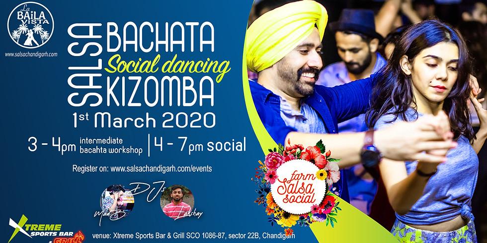 Chandigarh Salsa Social | Xtreme Sports Bar & Grill | Farm Salsa Social precursor