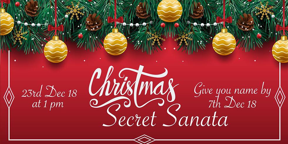 Secret Santa -Gift Exchange