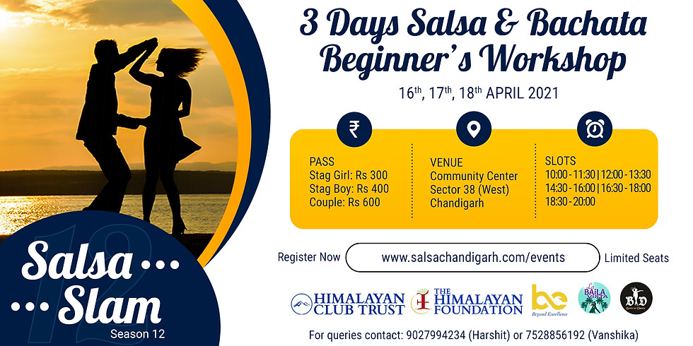 Salsa Slam | 3 days workshop