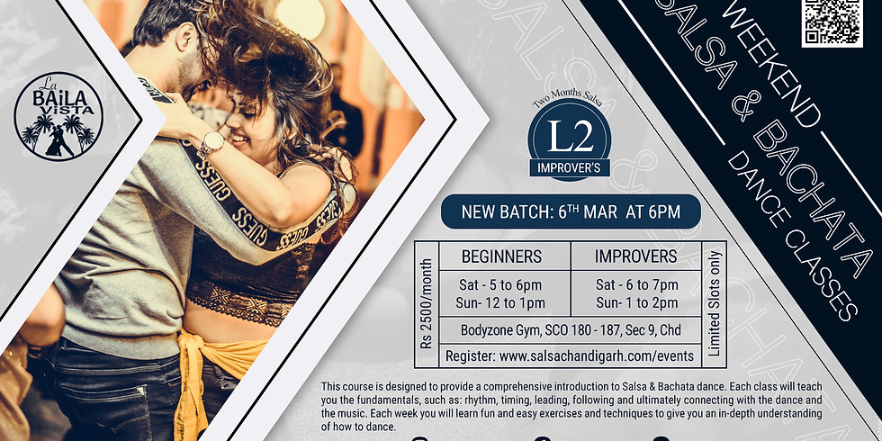 New Improver's Batch | 6th Mar - 6pm
