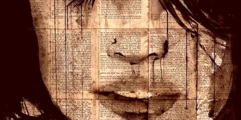 COMPLET Soirée créative - Vin, peinture et plaisir - Inspiration Loui Jover - Encre, acrilyque et papier sur toile
