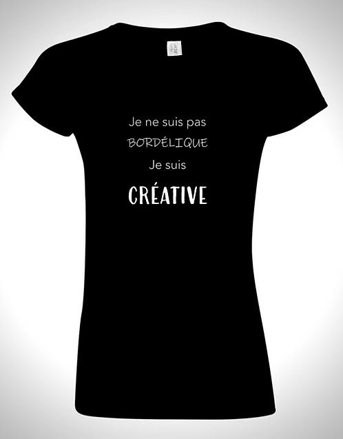 Je ne suis pas bordélique je suis créative