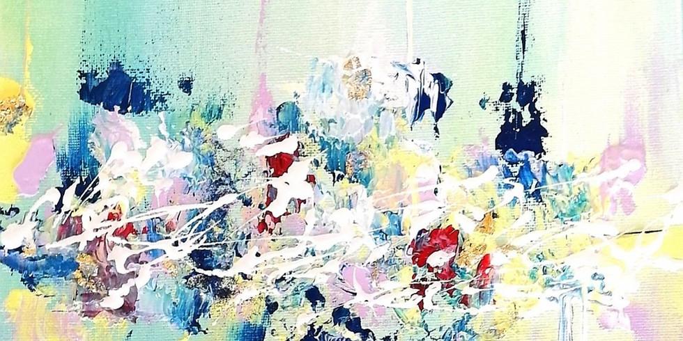 Création d'une œuvre abstraite