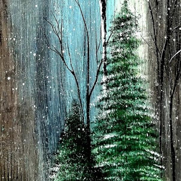 Atelier de Noel - Peinture sur bois