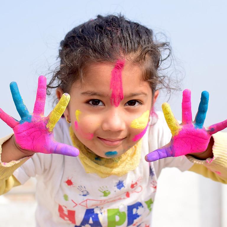 (2021) Samedi de 8h30 à 10h00 Session de cours de peinture pour les jeunes de 6-14  ans et plus.