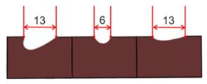 Dláto s dlouhou rukojetí univerzální 6 mm