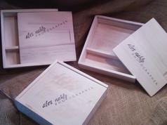 Dřevěné krabičky