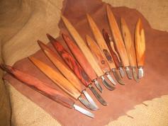 Kované nože z HSS oceli