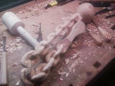 Postup výroby tzv. Vězeňské žerlice