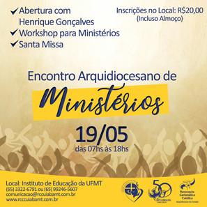 Encontro Arquidiocesano de Ministérios