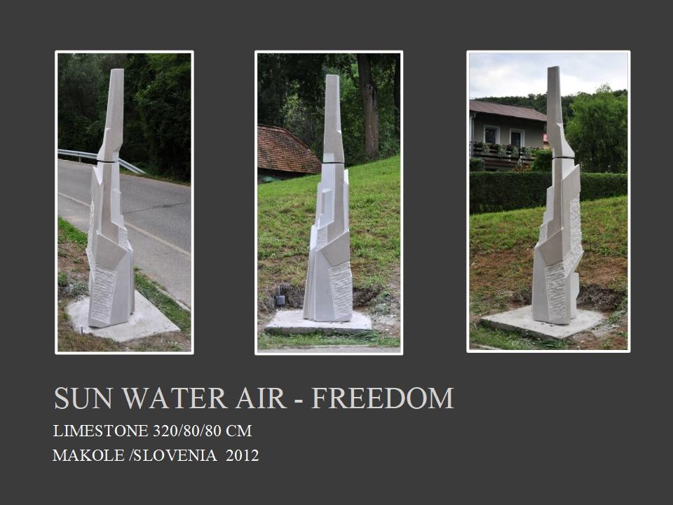 SUN WATER AIR FREEDOM