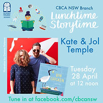 Storytime Live! Kate & Jol Temple