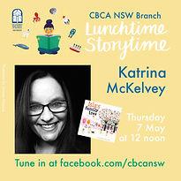 Lunchtime, Storytime, LIVE! Katrina McKe