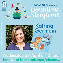 Storytime Live! Katrina Germain