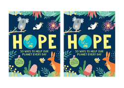Hope: 50 Ways to help save Our Planet