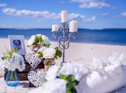 Beach Picnic in neutrals special touches