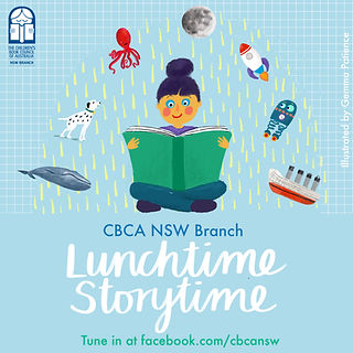 CBCA NSW Branch Lunchtime, Storytime Live!