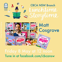 Lunchtime, Storytime LIVE! Matt Cosgrove