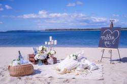 Beach or Picnic setting