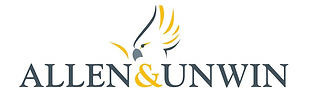 Allen and Unwin logo black yellow.PNG