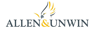 Allen and Unwin logo black yellow.PNG