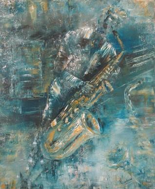 Blue saxo