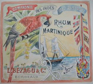 le perroquet rhum de Martinique (repr