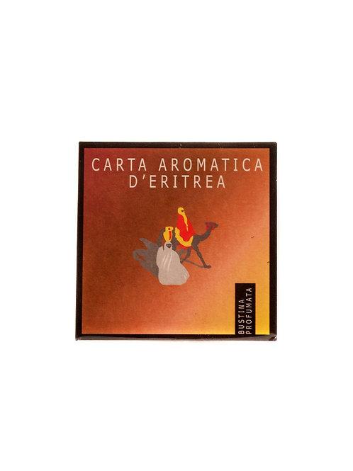 CARTA AROMATICA D'ERITREA. BUSTINA PROFUMATA