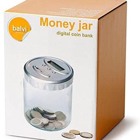 SALVADANAIO MONEY JAR DIGITALE - BALVI 24199