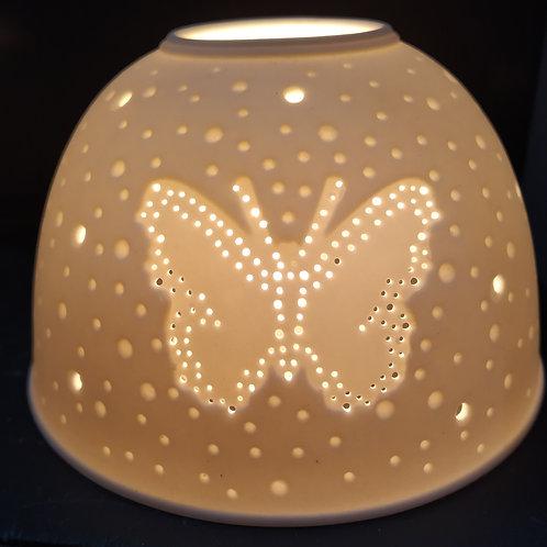 PORTACANDELA TEA-LIGHT IN PORCELLANA
