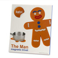"SOTTOPENTOLA IN SILICONE MAGNETICO ""THE MAN"" - BALVI 25694"